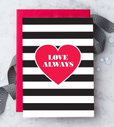 "Design with Heart Studio - Greeting Cards ""Love Always"""