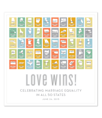 Design with Heart Studio - Art Prints - Marriage Equality Poster