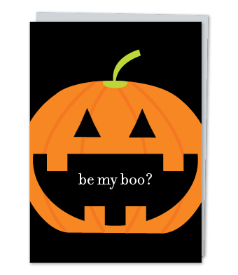 Design with Heart Studio - Greeting Cards - Be My Boo?