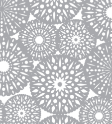 Design with Heart Studio - Giftwrap - Scandinavian Snowflake Giftwrap