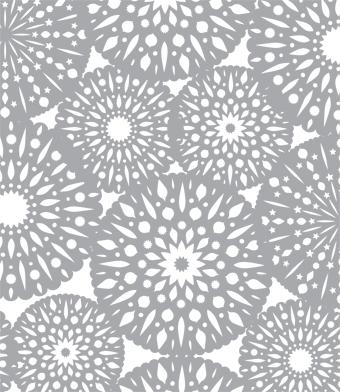 Design with Heart Studio - Holiday - Scandinavian Snowflake Giftwrap