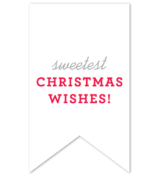 Design with Heart Studio - Holiday - Christmas Wishes Gift Tag