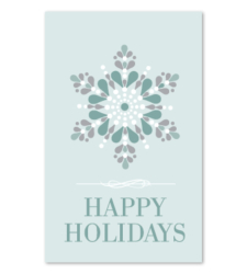 Design with Heart Studio - Holiday - Happy Holidays Gift Tag
