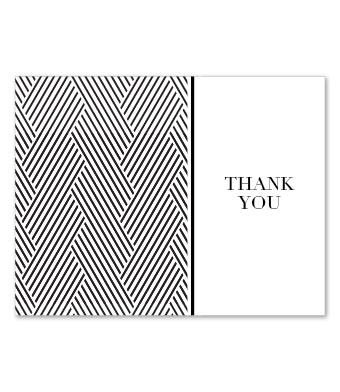 Design with Heart Studio - Boxed Sets - Black Geometric Wedding Suite