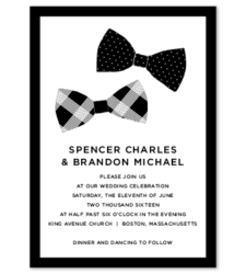 Design with Heart Studio - Wedding Suites - Bow Ties Wedding Suite