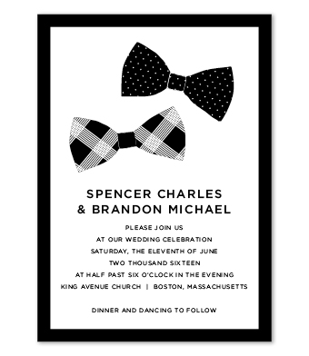 Design with Heart Studio - Boxed Sets - Bow Ties Wedding Suite