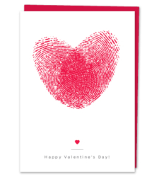 Design with Heart Studio - Greeting Cards Heart Thumbprints