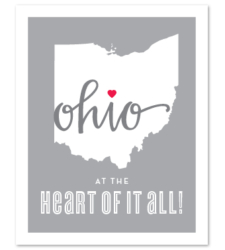 "Design with Heart Studio - Art Prints ""At The Heart of it All"""