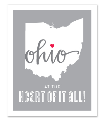 """Design with Heart Studio - Art Prints - """"At The Heart of it All"""""""