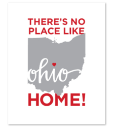 "Design with Heart Studio - Art Prints ""There's No Place Like Home"""