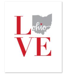 Design with Heart Studio - Art Prints LOVE