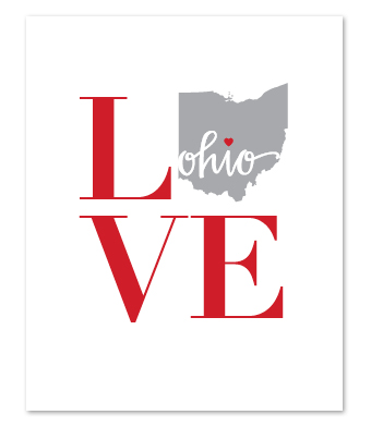 Design with Heart Studio - Art Prints - LOVE