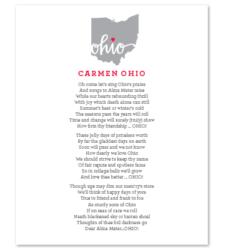 Design with Heart Studio - Art Prints Carmen Ohio Lyrics