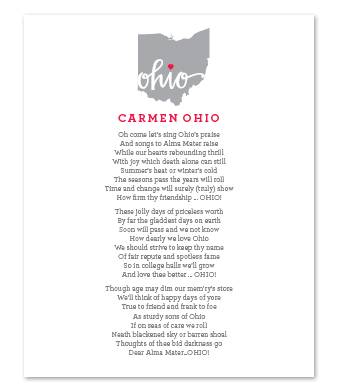 Design with Heart Studio - Art Prints - Carmen Ohio Lyrics
