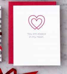 """Design with Heart Studio - New - """"You are always in my heart."""""""
