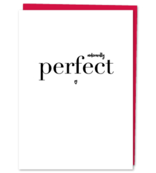 "Design with Heart Studio - Greeting Cards ""Awkwardly Perfect"""