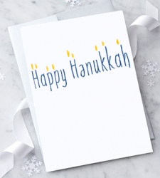 Design with Heart Studio - New - Happy Hanukkah