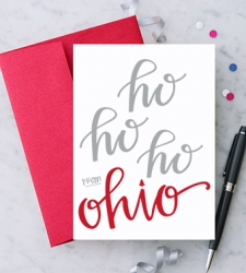 Design with Heart Studio - New - Ho Ho Ho Ohio