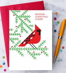 "Design with Heart Studio - New - ""Sending Christmas Cheer!"""