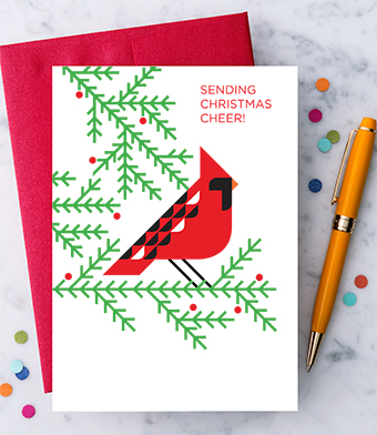 "Design with Heart Studio - Holiday - ""Sending Christmas Cheer!"""