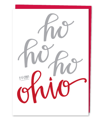 Design with Heart Studio - Holiday - Ho Ho Ho Ohio