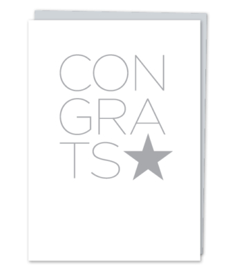 Design with Heart Studio - Greeting Cards - CONGRATS