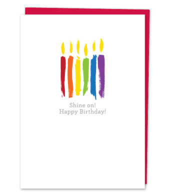 Design with Heart Studio - Greeting Cards - Shine on! Happy Birthday!