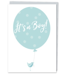 "Design with Heart Studio - ""It's a Boy!"""