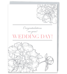 Design with Heart Studio - Greeting Cards Congratulations On Your Wedding Day