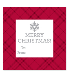 Design with Heart Studio - Holiday - Merry Christmas Plaid