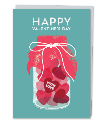 Design with Heart Studio - Greeting Cards - Happy Valentine's Day