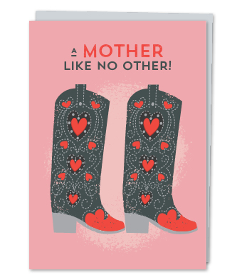 Design with Heart Studio - Greeting Cards - A Mother Like No Other!