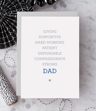 Design with Heart Studio - Greeting Cards - DAD