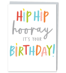 Design with Heart Studio - New - Hip Hip Hooray! It's Your Birthday!