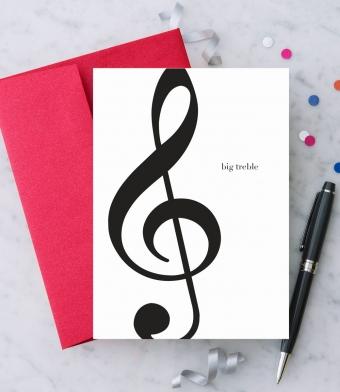 Design with Heart Studio - Greeting Cards - Big Treble
