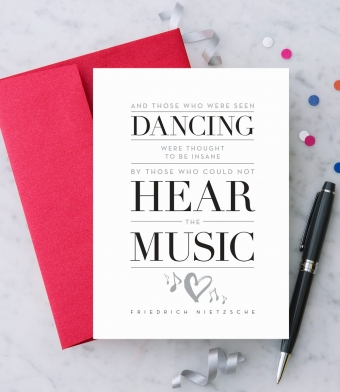 Design with Heart Studio - Greeting Cards - Hear The Music