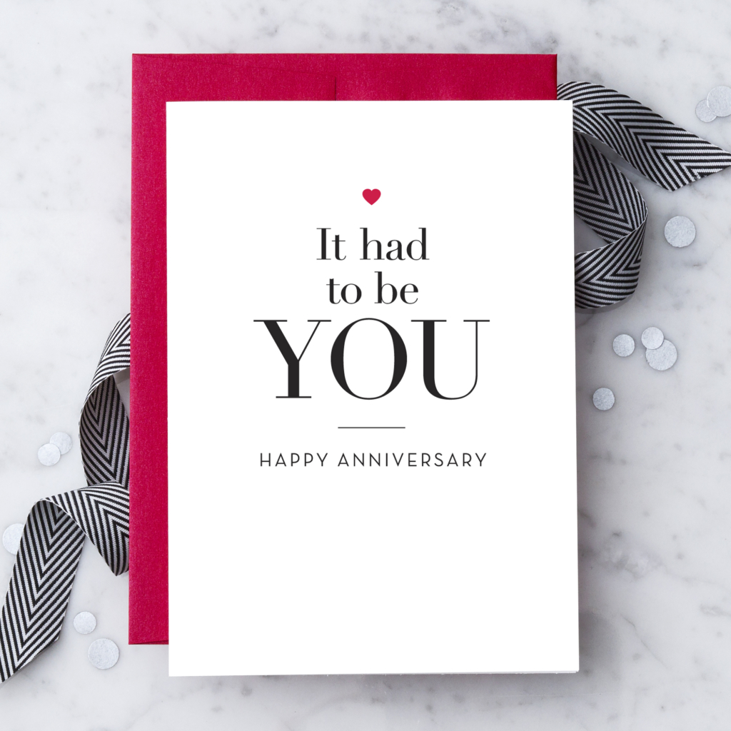 Anniversary Greeting Cards Design With Heart Studio