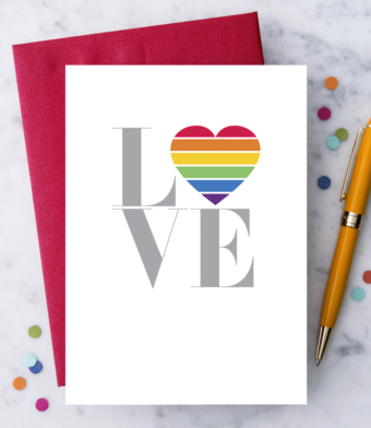 """Design with Heart Studio - Greeting Cards - """"Love"""""""