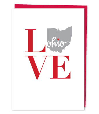 Design with Heart Studio - Greeting Cards - Love Ohio