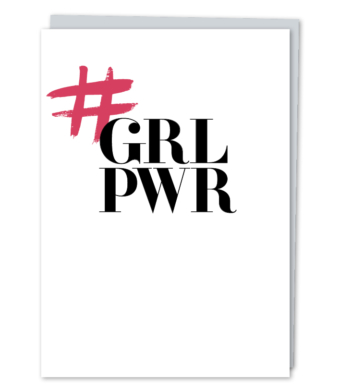 Design with Heart Studio - Greeting Cards - #GRLPWR