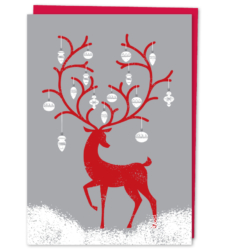 Design with Heart Studio - Holiday - Reindeer With Ornaments Box Set