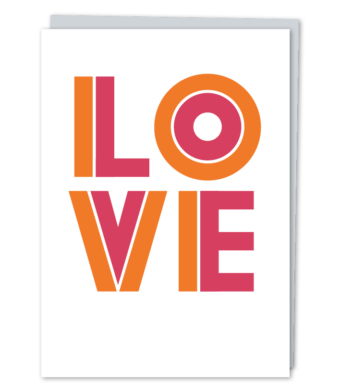 Design with Heart Studio - Greeting Cards - LOVE
