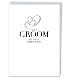 "Design with Heart Studio - New - ""To The Groom"""