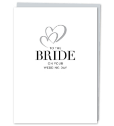 "Design with Heart Studio - New - ""To The Bride"""