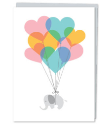 Design with Heart Studio - Greeting Cards Baby Elephant