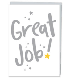 "Design with Heart Studio - Greeting Cards ""Great Job!"" (With Verse)"