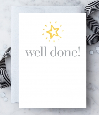 Design with Heart Studio - Greeting Cards - Well Done!