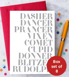 Design with Heart Studio - Holiday - Santa's Reindeer Box Set