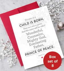 Design with Heart Studio - Holiday - Isaiah 9:6 Box Set