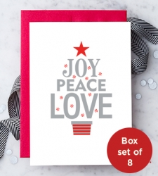 Design with Heart Studio - Holiday - Joy Peace Love Box Set